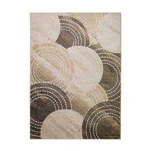 Hnedo-béžový koberec MOMA Belga, 100×140cm