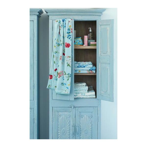 Modrá osuška Pip Studio Hummingbirds, 70x140 cm