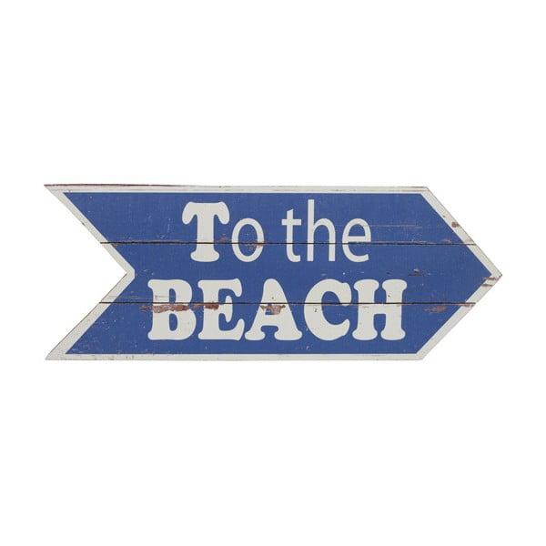 Drevená ceduľa Artesania Esteban Ferrer To The Beach