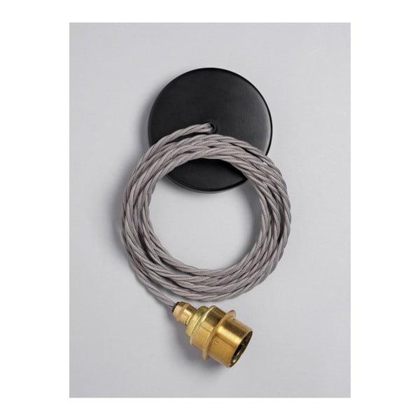 Závesný kábel Brass Elephant Grey