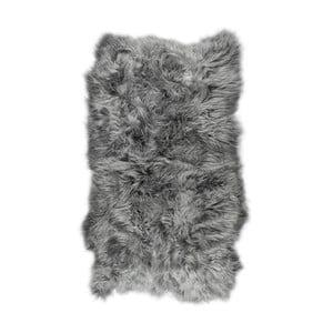 Sivý kožušinový koberec s dlhým vlasom Arctic Fur Nilja, 120 × 180 cm