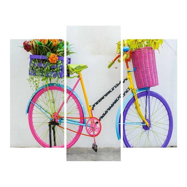 3-dielny obraz Bike