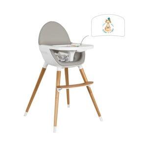 Detská polohovacia jedálenská stolička Tanuki NUUK Fo×