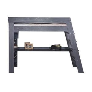 Poschodová posteľ s pracovným stolom Julien Steelgrey