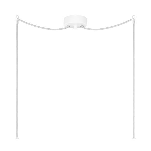 Dvojité svetlo AWA Elementary opal glossy/white/white
