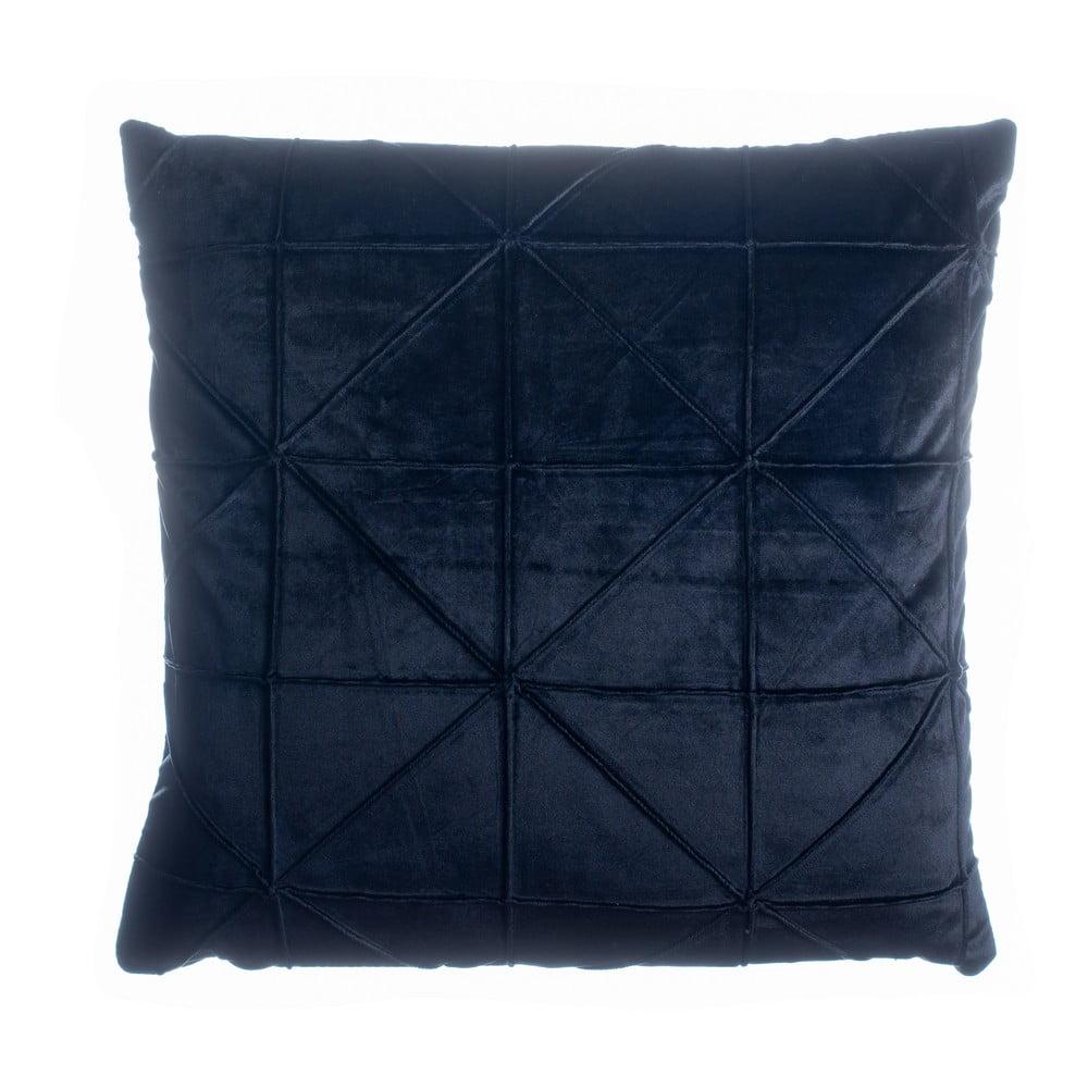 Čierny vankúš JAHU Amy, 45 x 45 cm
