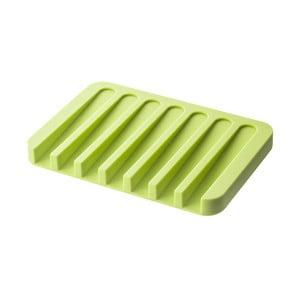 Zelená podložka pod mydlo YAMAZAKI Flow