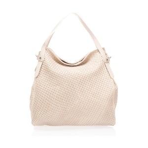 Béžová kožená kabelka Markes Hela