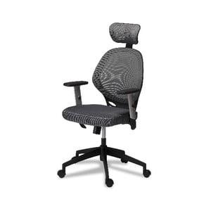 Sivá kancelárska stolička Furnhouse Maze