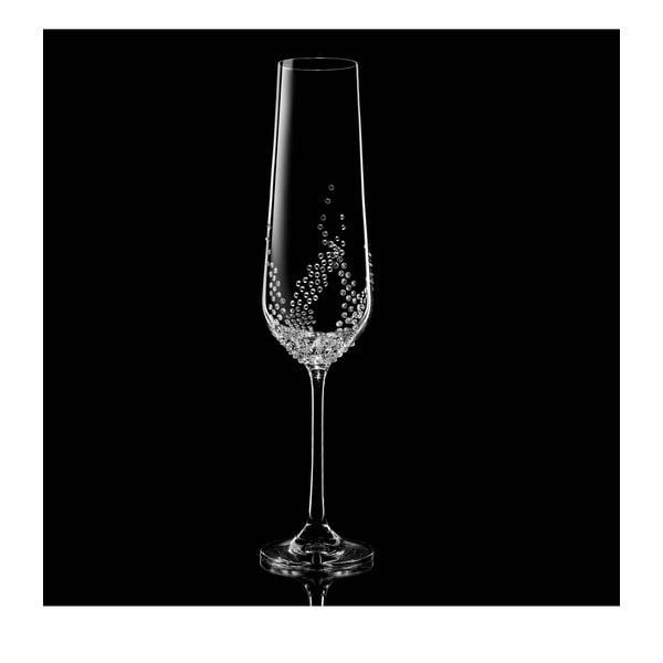 Sada 2 pohárov na šampanské Maia so Swarovski Elements v luxusnom balení