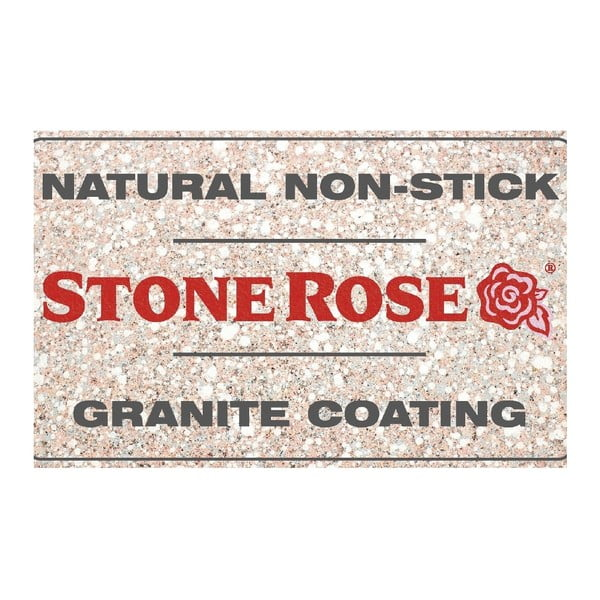 Panvica s pokrievkou Bisetti Stonerose Rose Matteo, Ø 28 cm