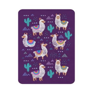 Detský koberec OYO Kids Llama Adventures, 100 x 140 cm