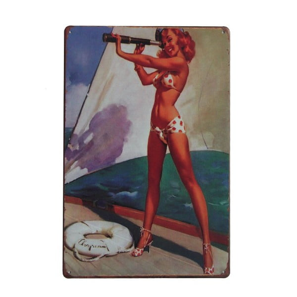 Ceduľa Sailor, 20x30 cm