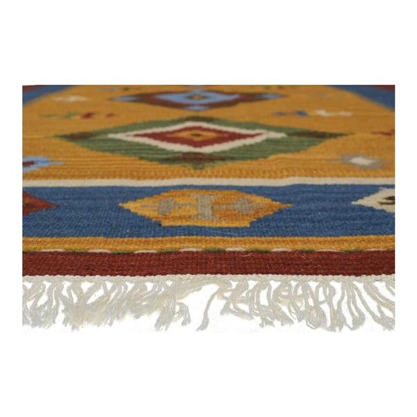 Ručne tkaný koberec Kilim Classic K12 Mix, 155x215 cm