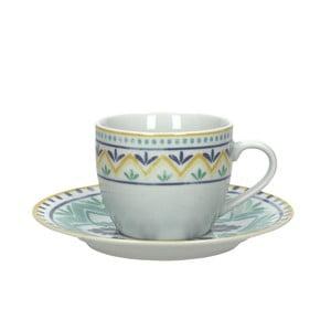 Sada 6 hrnčekov na čaj s tanierikmi Moon Ink