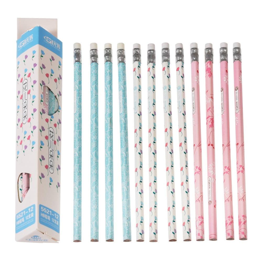Sada 12 ceruziek Rex London Tulips