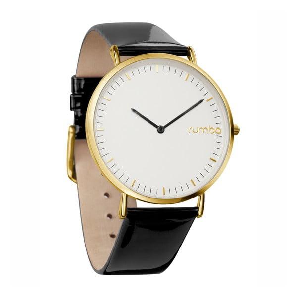 Dámske hodinky SoHo Patent Leather Gold Lights Out