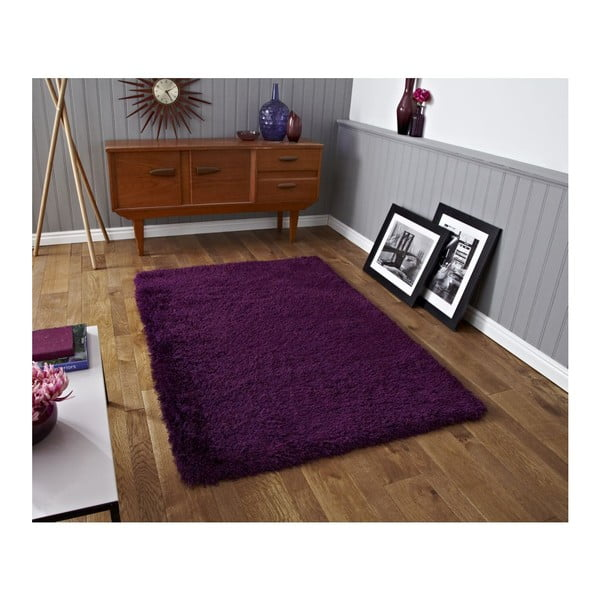 Koberec Monte Carlo Purple, 80x140 cm