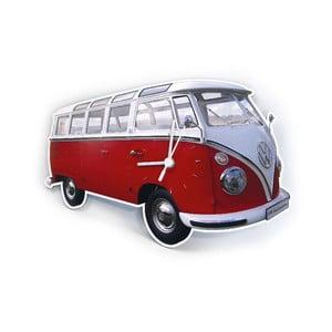 Nástenné hodiny VW Camper Red