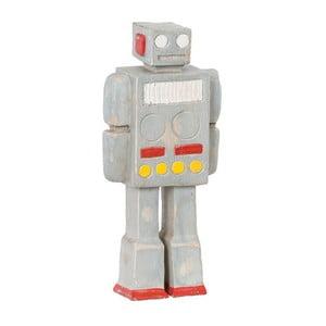 Drevená dekoratívna figúrka Vox robot