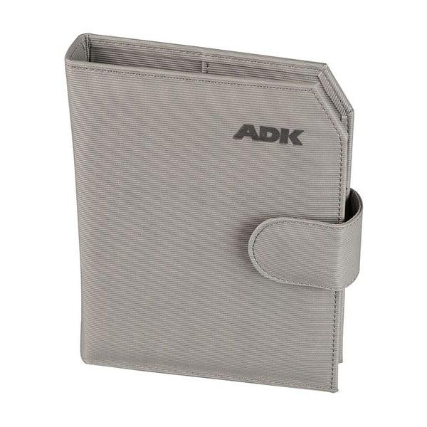 Diár na rok 2016 ADK Praktik, šedý, veľ. A5