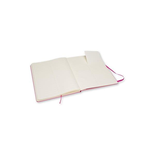 Zápisník Moleskine Pro Magenta, extra veľký