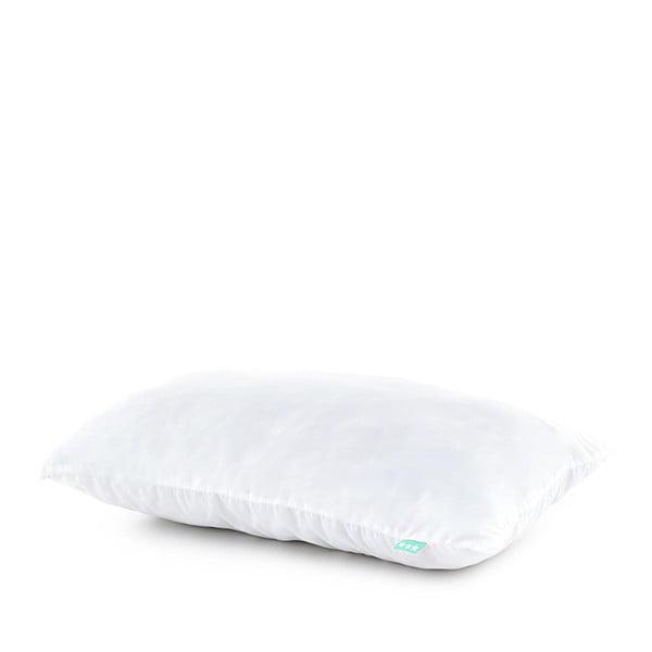 Biela obliečka  na vankúš Happynois, 50x30 cm