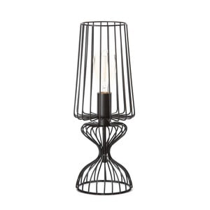 Čierna stolová lampa ETH Wire Frie