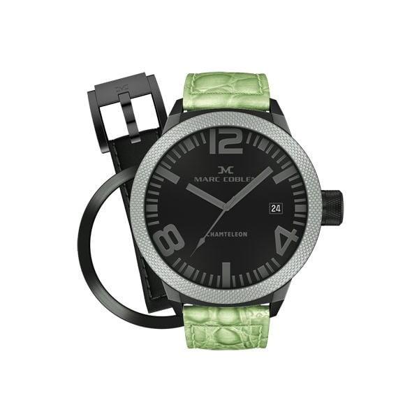 Pánske hodinky Marc Coblen s remienkom a krúžkom na ciferník naviac P51