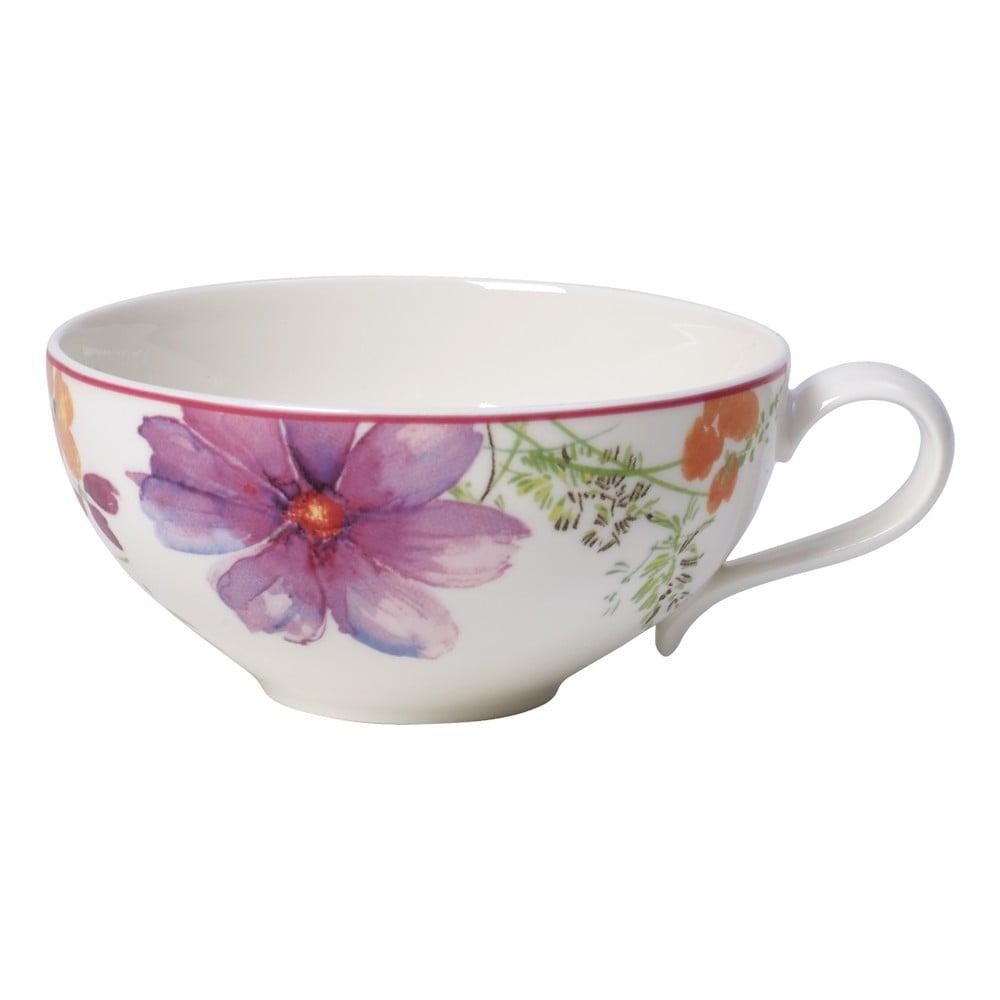 Porcelánová šálka na čaj s motívom kvetín Villeroy & Boch Mariefleur Tea, 0,24 l