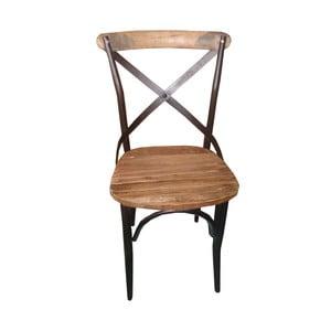 Kovová stolička Chaise Ouvert