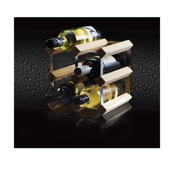 Drevený stojan na víno Kitchen Craft Bar Craft 6