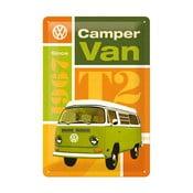 Plechová ceduľa Camper Van, 20x30 cm