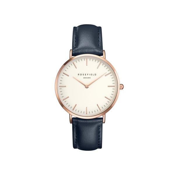 Bielo-modré dámske hodinky Rosefield The Bowery