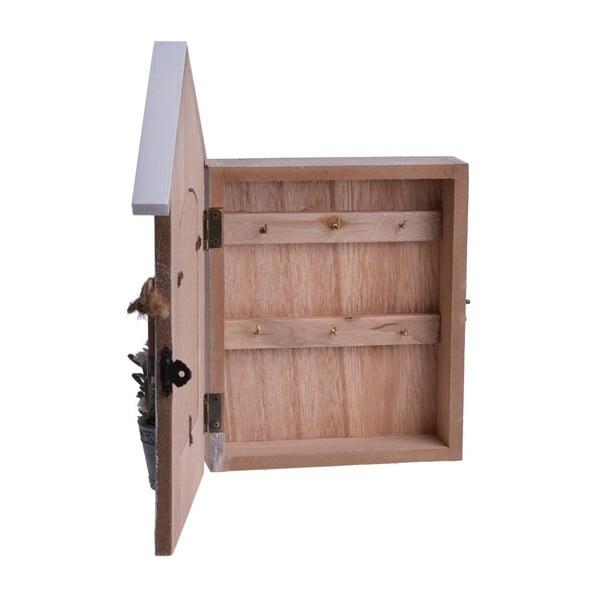 Drevená skrinka s fotorámom Wooden Case