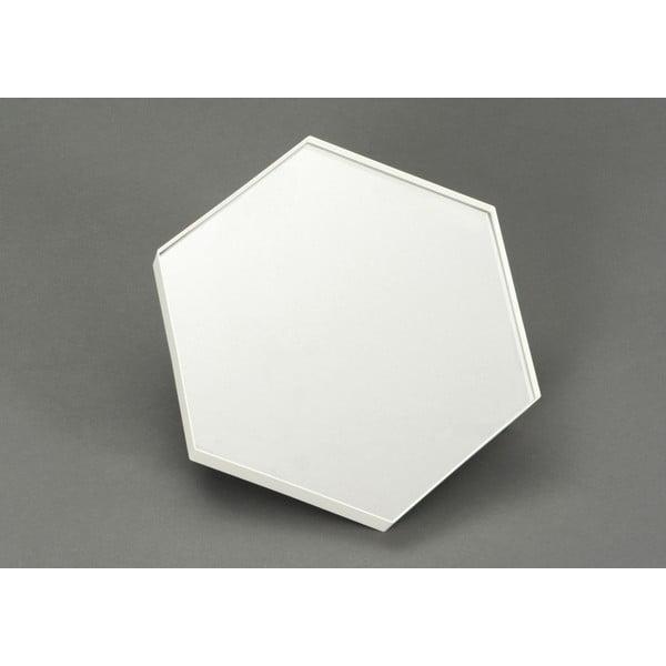 Zrkadlo Hexagonal, 30x35 cm