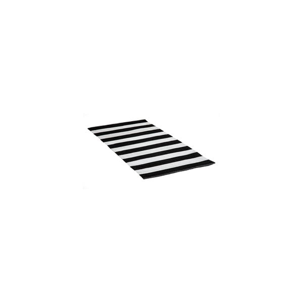Koberec z PVC Tira 140x200 cm, čierny