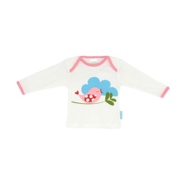 Detské tričko Little Birds s dlhým rukávom, veľ. 6 až 9 mesiacov