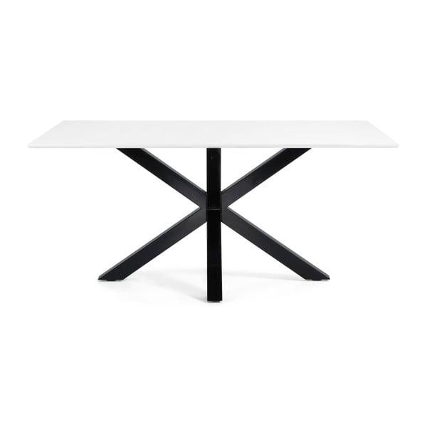 Jedálenský stôl Arya, 180x100cm, čierne lakované nohy