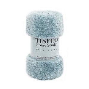 Modrý pléd Tiseco Home Studio Fluffy, 150 × 200 cm