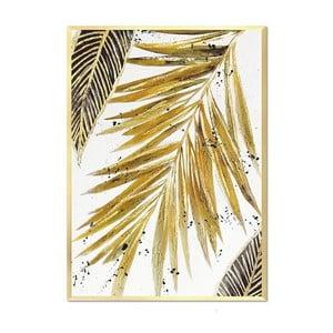 Nástenný ručne maľovaný obraz JohnsonStyle The Tropics I, 63 x9 3 cm