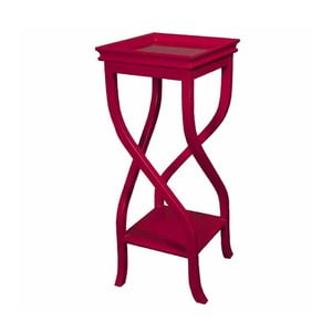 Odkladací stolík Kayla Red, 32x32x83 cm