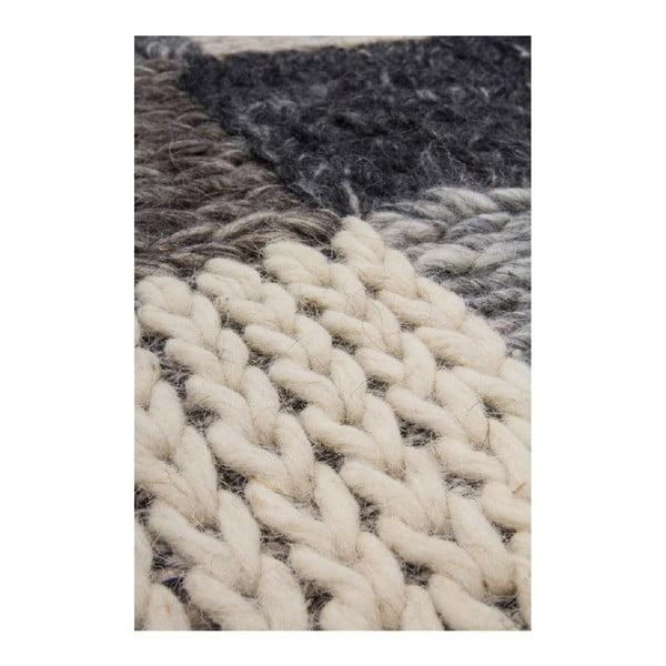 Vlnený koberec Sirius 508 Brown, 80x150 cm