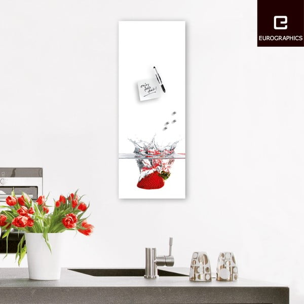 Magnetická tabuľa Eurographics Splash, 30 x 80 cm