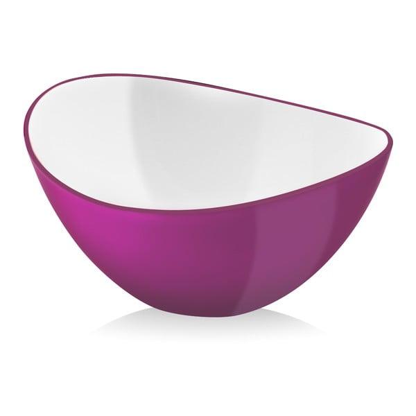 Ružová šalátová misa Vialli Design, 16 cm