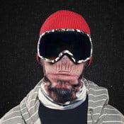 Lyžiarska maska Beardo Chimpanse