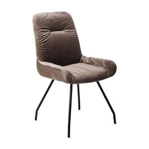 Hnedá jedálenská stolička Kare Design Claw