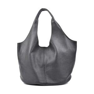 Čierna kožená kabelka Carla Ferreri Rahno Jullo