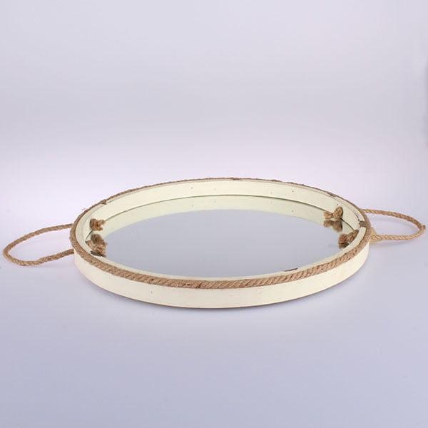 Závesné zrkadlo Vintage Home, 38 cm