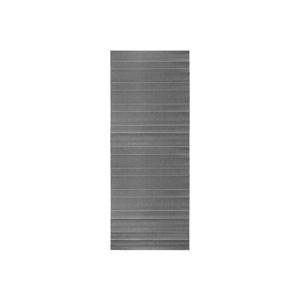 Koberec vhodný do exteriéru Sunshine 80x300 cm, sivý